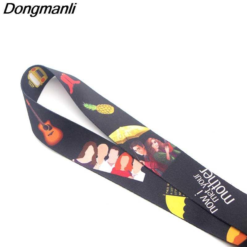 P3435 Dongmanli Come HO Incontrato Tua Madre TV Show Cordino Distintivo Cordini ID Cinghie del Collo Cordino Collana Catena di Accessori