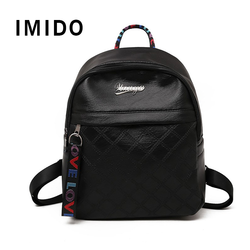 IMIDO 2019 Fashion Travel Backpack Womens Women Back Bag
