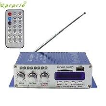 Новое поступление 2CH 200 Вт Мощность Мини HiFi аудио стерео усилитель для ipod автомобиля дома MP3 FM бу