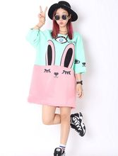 Adorable Cute Soft Cotton Anime Pattern Shirt Women Girl Sweet Lolita Japan Kawaii Female Tops Cat Bunny T shirts Lady Plus Size