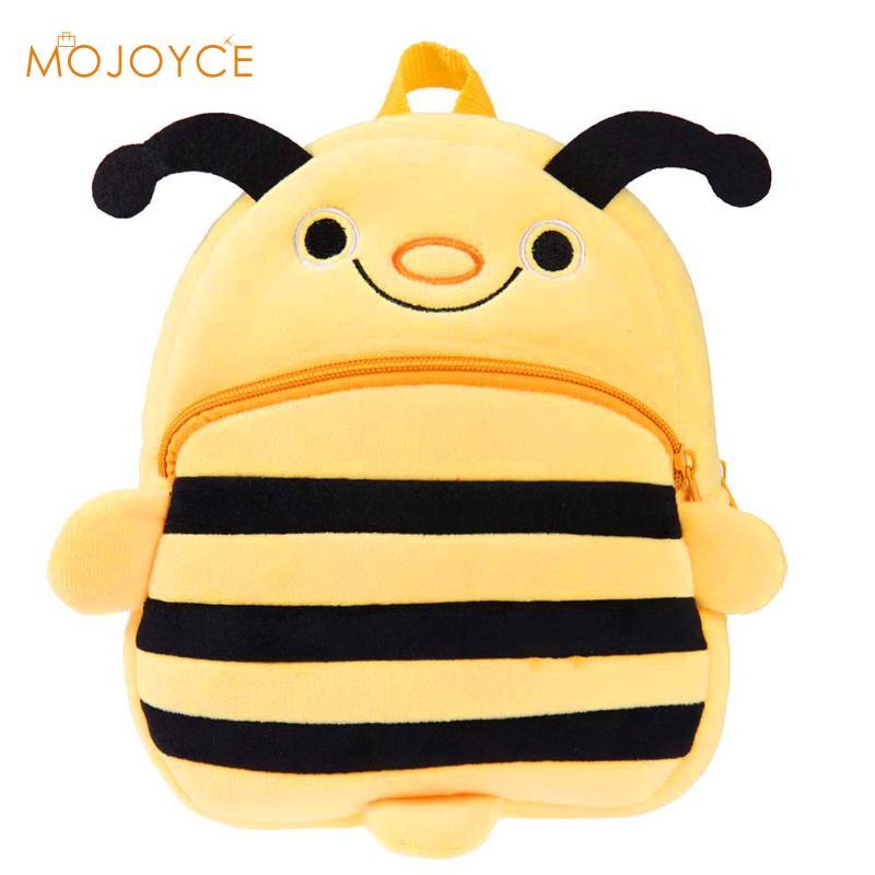 Fashion Cute Cartoon Bee Backpack Baby Safety Harness Backpack For Girls/boys Children Backpack Animals Kindergarten School Bag