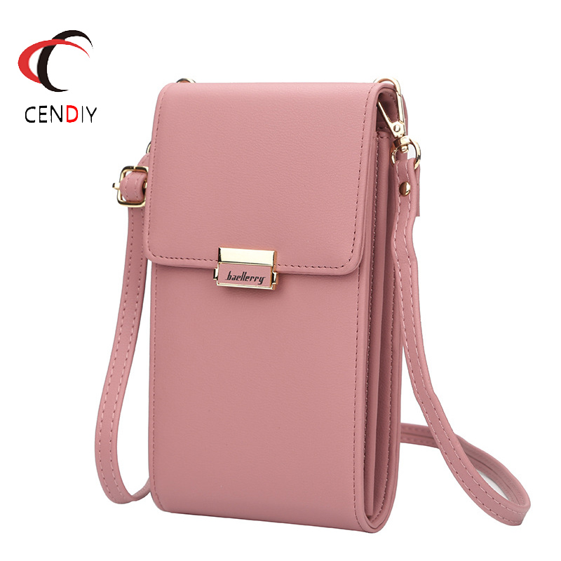New Baellerry Purse Shoulder Bags Women Chain Mobile Phone Bag Small Messenger Bags For Women 2019 Small Pocket Designer Clutch(China)