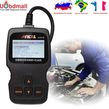 3 цвета автомобиль код ошибки чтения ансель AD310 инструмент диагностики авто OBDII автомобильной сканер лучше, чем ELM327 OBD 2 сканер
