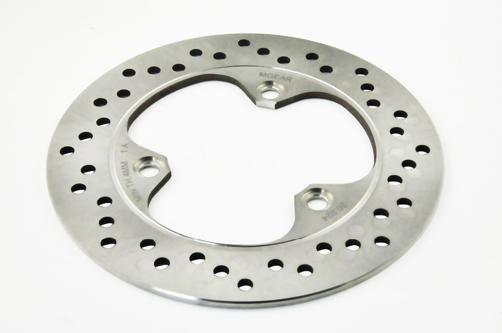 ФОТО Motorcycle Rear Brake Disc Rotor Fit For Honda CBR250 MC19 VT250 NS250 NS400 NSR250 CBR400 CBR400R NSR400 VFR400 CBR500 CBR600