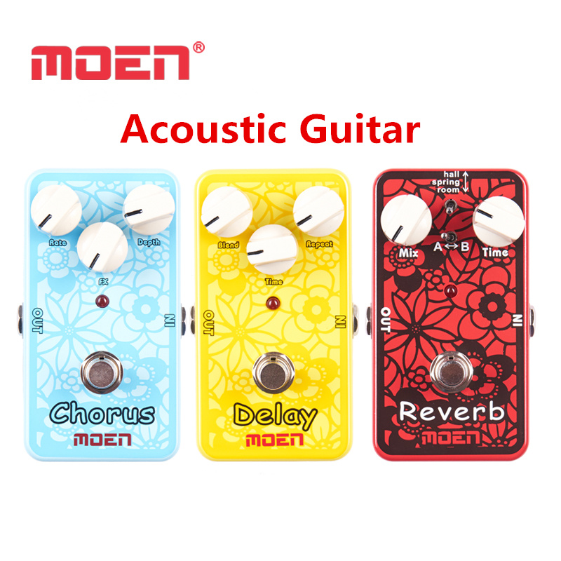 все цены на Acoustic Guitar Dedicated Effects Stompbox Pedal Dedicated Moen Multi Voice Chorus Video Recording Delay Chorus Reverb