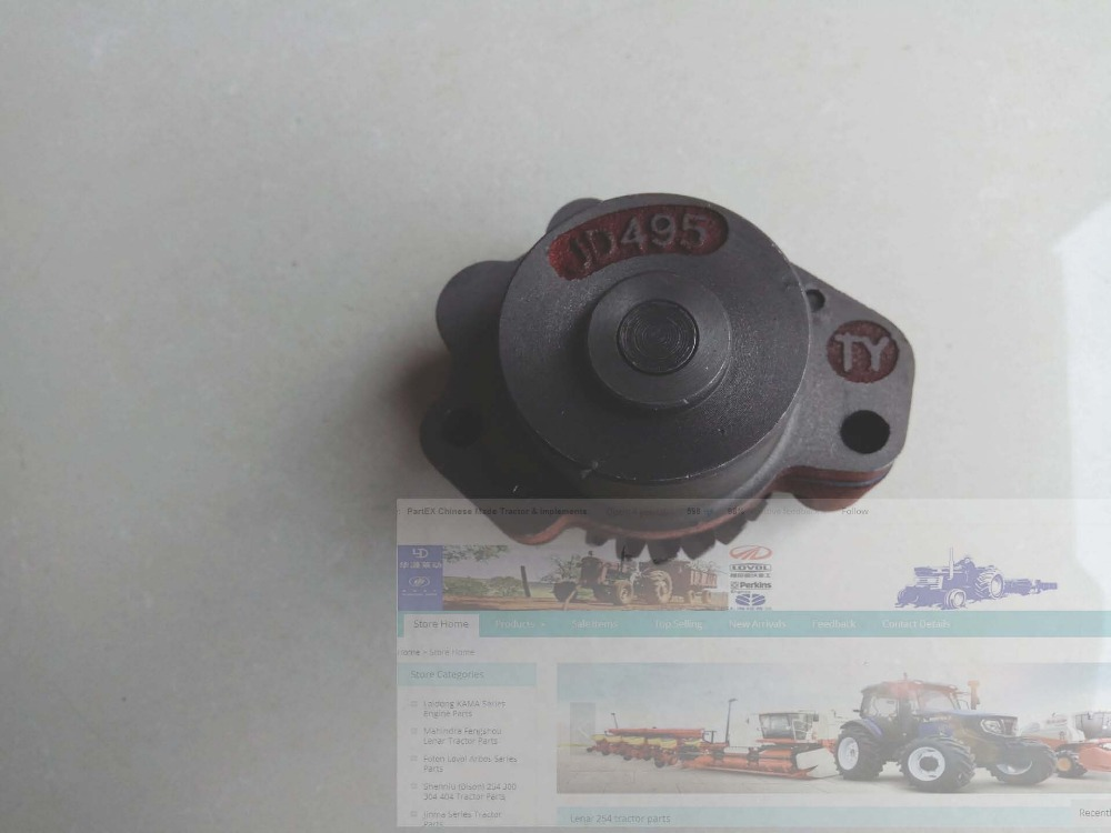 Jiangdong JD495B, the engine oil pump , part number: jiangdong engine jd495t for tractor like jinma luzhong etc the water pump part number