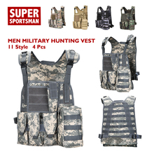 d8897fea4bfb9 Men Camouflage Military Equipment Tactical Army Vests Combat Hunting  Uniform Airsoft Sniper Gear Camo Swat Ghillie