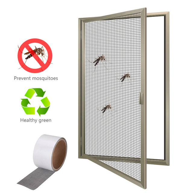 Merveilleux 1 Roll 5*200cm Anti Insect Fly Bug Mosquito Screen Door Window Net Mesh