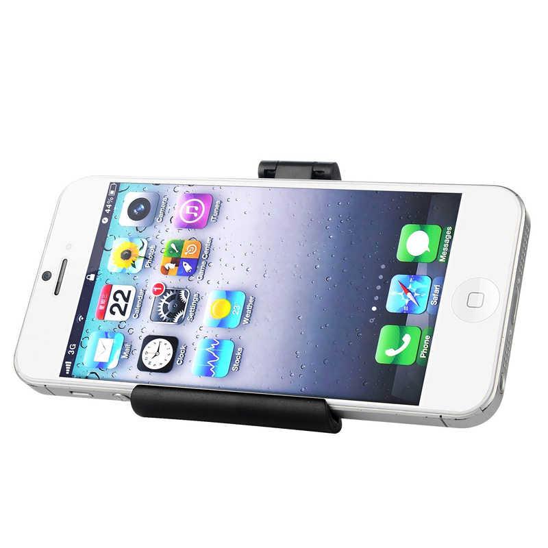 Portefeuille Universal Meja Dudukan Telepon Berdiri Untuk Samsung Galaxy iPhone 6 s Ditambah 8 X Telefoon Houder S7 Ponsel aksesoris