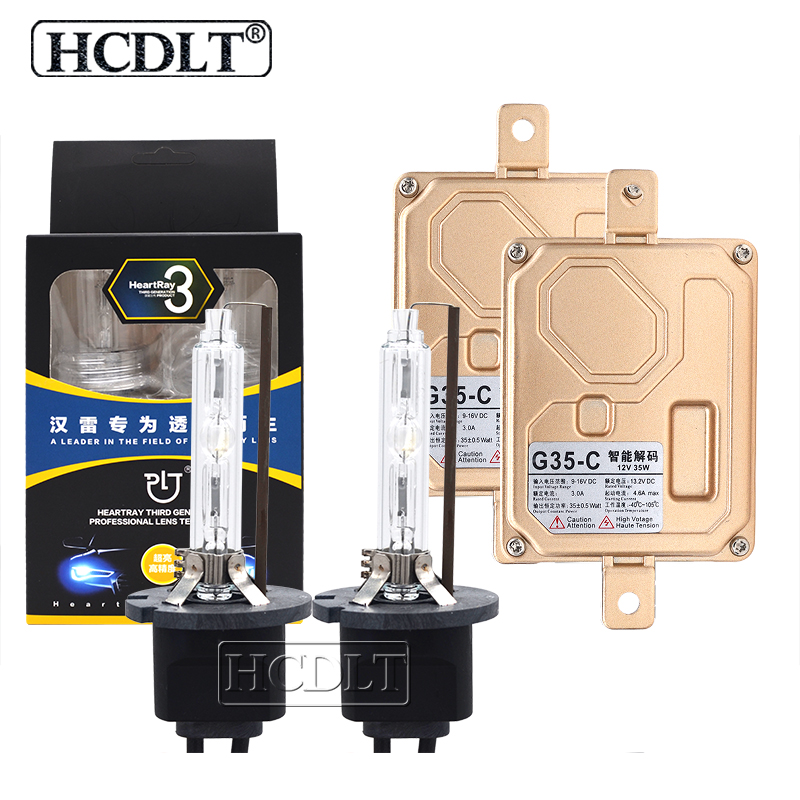 HCDLT 35W HeartRay H1 H7 H11 HB3 HB4 9012 D2H Xenon Canbus HID Kit 4500K 5500K 6500K Car Light Bulb Lamp 35W Canbus HID BallastHCDLT 35W HeartRay H1 H7 H11 HB3 HB4 9012 D2H Xenon Canbus HID Kit 4500K 5500K 6500K Car Light Bulb Lamp 35W Canbus HID Ballast