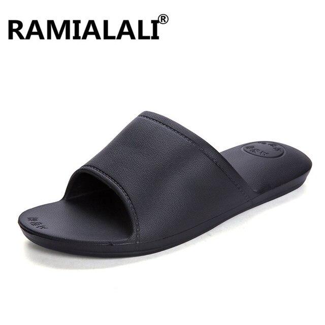 pantoufles pour homme qualité supérieure pantoufles occasionnels Confortable Chaussure d'extérieur pour hommes 2017 nouveau design UuQUY