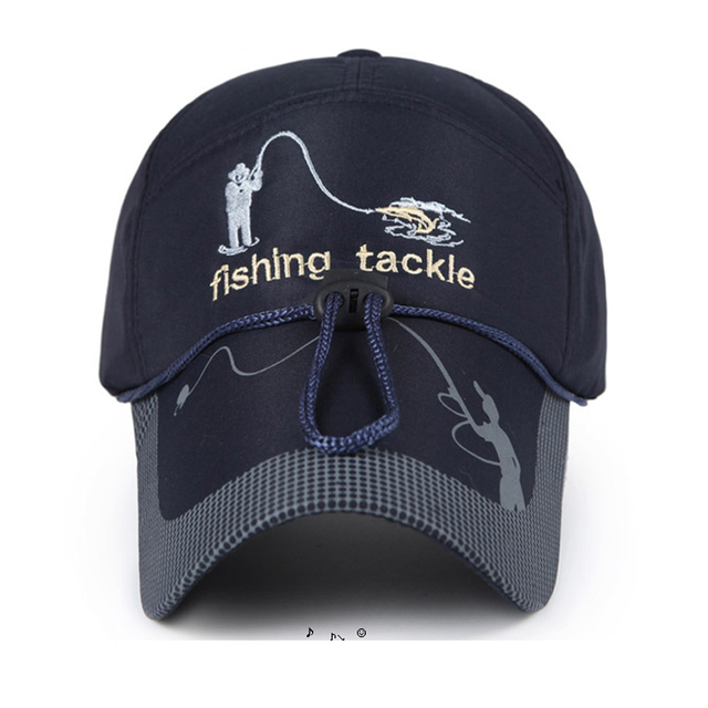 d23b8d40a72 2018 New Adult Men Adjustable Fishing Sunshade Sport Baseball Fishermen Hat  Cap Black Special Bucket Hat