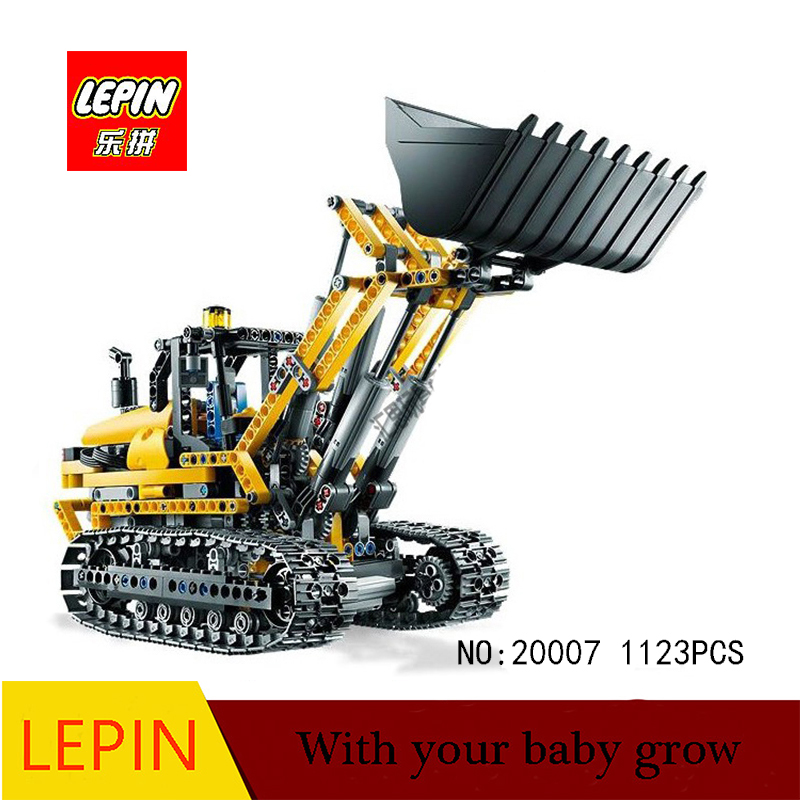 DHL Lepin technic series lepin 20007 1123pcs excavator Model Building blocks Bricks Compatible legoed 8043 Toy lepin 22001 pirate ship imperial warships model building block briks toys gift 1717pcs compatible legoed 10210