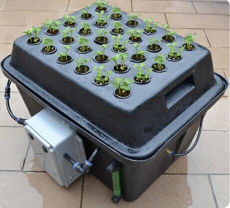 30pcs plant basket Intelligence centrifugal atomizing cloning Aeroponics pot with cycle timer MIST AERO-POT cloner  bucket hockey sock