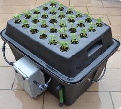 30 sztuk roślin kosz inteligencji odśrodkowe rozpylanie klonowania aeroponika garnek z cykl czasowy mgły AERO pot cloner wiadro|Doniczki do sadzonek|Dom i ogród -