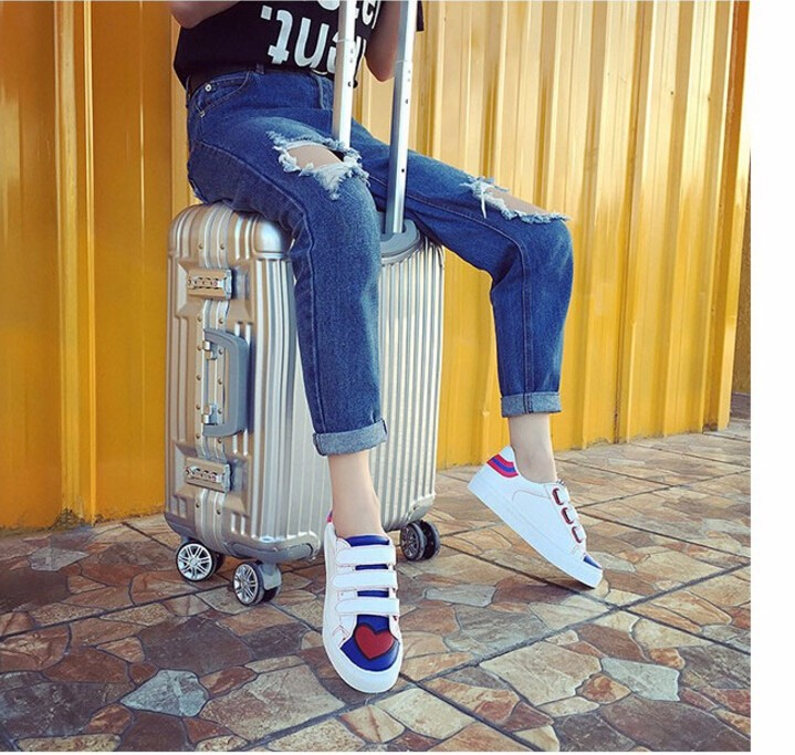 Free Shipping Spring and Autumn Men Canvas Shoes High Quality Fashion Casual Shoes Low Top Brand Single Shoes Thick Sole 7583 -  -  -  -  -  -  -  -  -  (2)