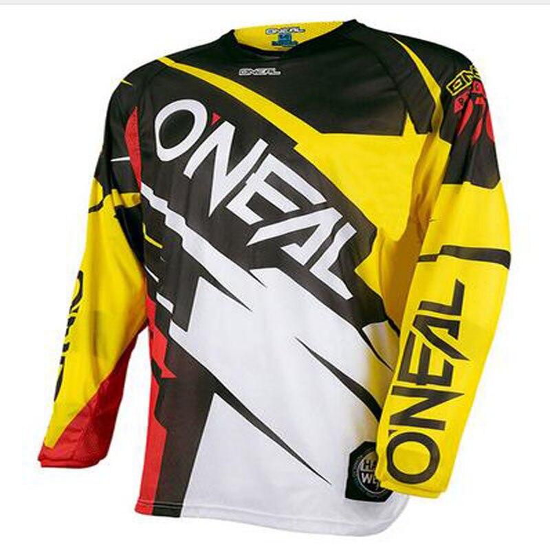 2018 Moto Fuoristrada Downhill Jersey MX MTB Off Road Mountain Bike DH Bicicleta Jersey Moto DH Motocross Jersey hot jersey