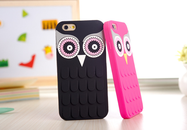 Cute 3D Cartoon OWL iPhone Case