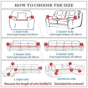 Image 2 - غطاء أريكة سميكة أفخم شامل غطاء أريكة s لغرفة المعيشة لينة غطاء أريكة أريكة منشفة الغلاف 1/2/3/4 مقاعد أريكة cubre