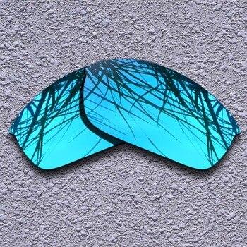 c998705eea Lentes de repuesto polarizadas azules para gafas de sol de chaqueta Oakley  Flak