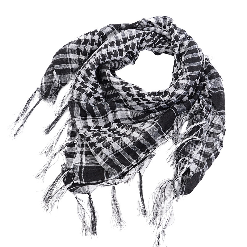 Puimentiua Unisex   Scarves   Fashion Women Men Arab Shemagh Keffiyeh Palestine   Scarf   Shawl   Wrap   New Spring Plaid   Scarf   For Women