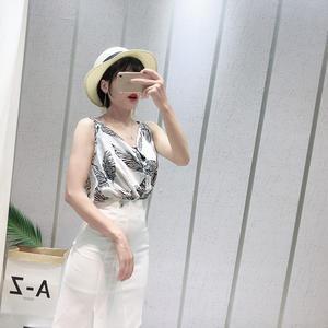7f0131075e2ad3 COIGARSAM Women V-Neck Blouse Shirt White Blue Yellow Black