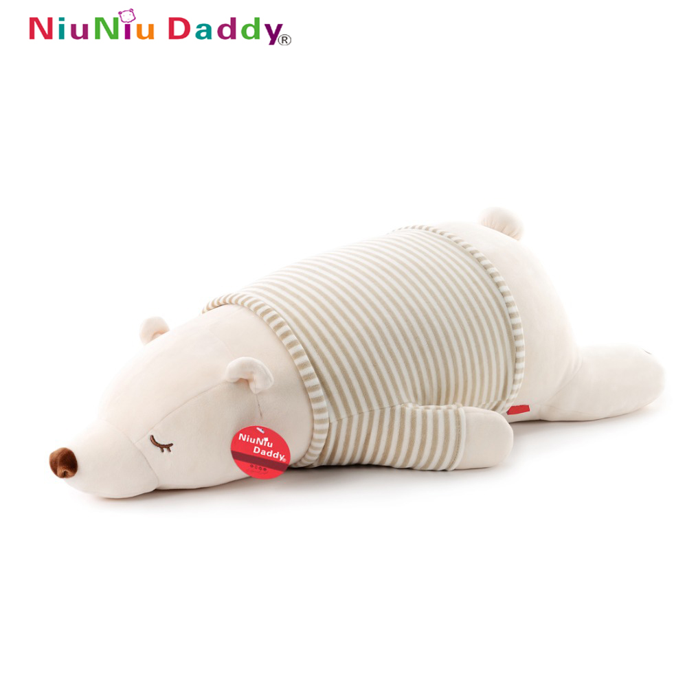 Niuniu Daddy 75см / 30 '' Супер мека мечка плюшени животински играчка плюшена играчка плюшени животни животни детска кукла играчки бебе продукт