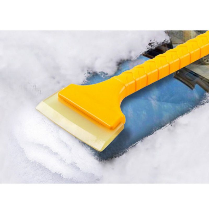 Garden Hand Tools Car Vehicle Auto Snow Cleaning Remover Windshield Shovel Handheld Ice Scraper Snow Brush Car Ice Scraper Without Return Spade & Shovel