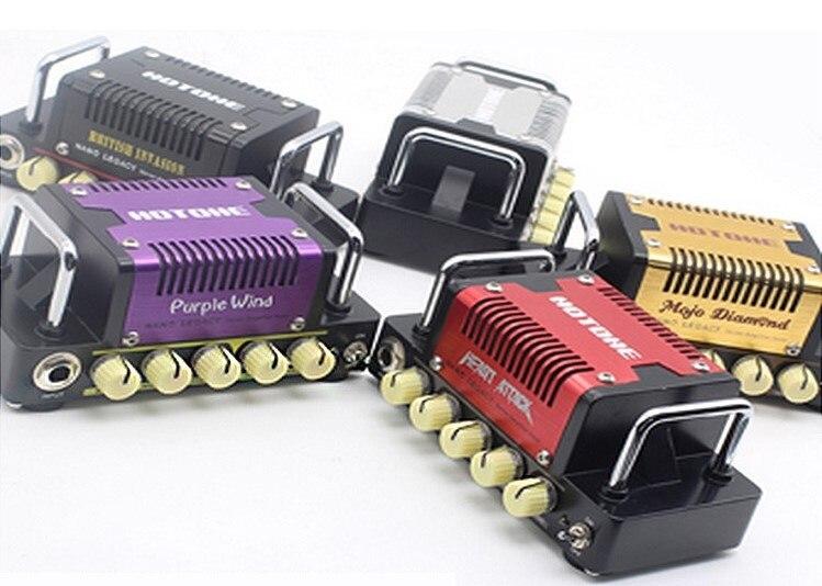Hotone Audio Nano Legacy Micro Amp Mini Head Series Heart Attack British Invasion Purple Wind Mojo