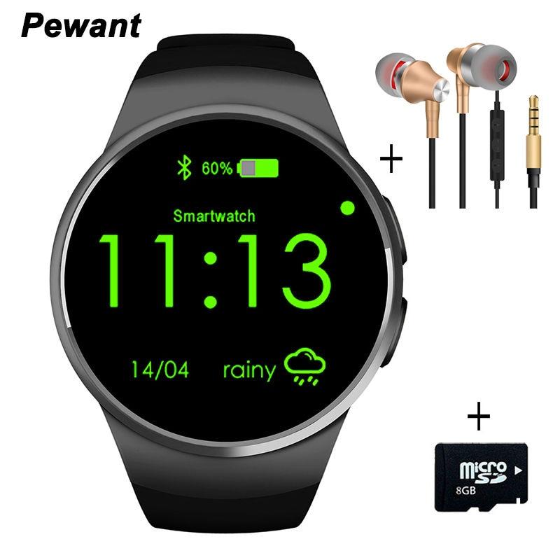Galleria fotografica Haute Qualité Homme Montres Bluetooth Smart Watch Android IOS Dispositifs Portables <font><b>Smartwatch</b></font> Avec Coeur Taux Pour Samsung Gear s3