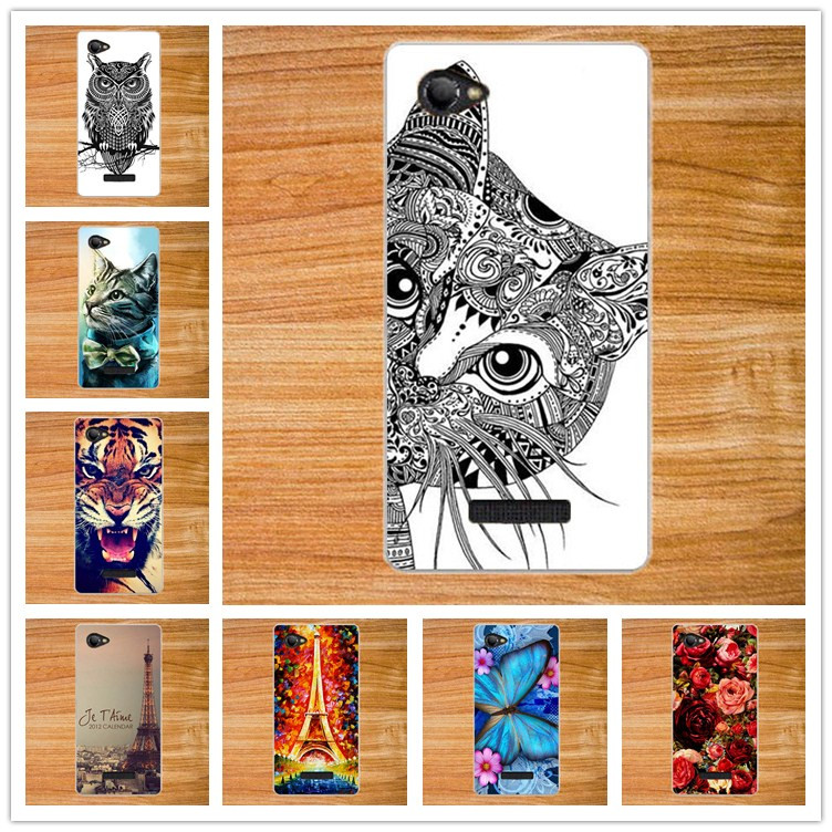 Fashion 14 Patterns Painted Coloured Case Cover für Fly FS505 Nimbus 7 DIY Bunte Case Cover für FLY fs505