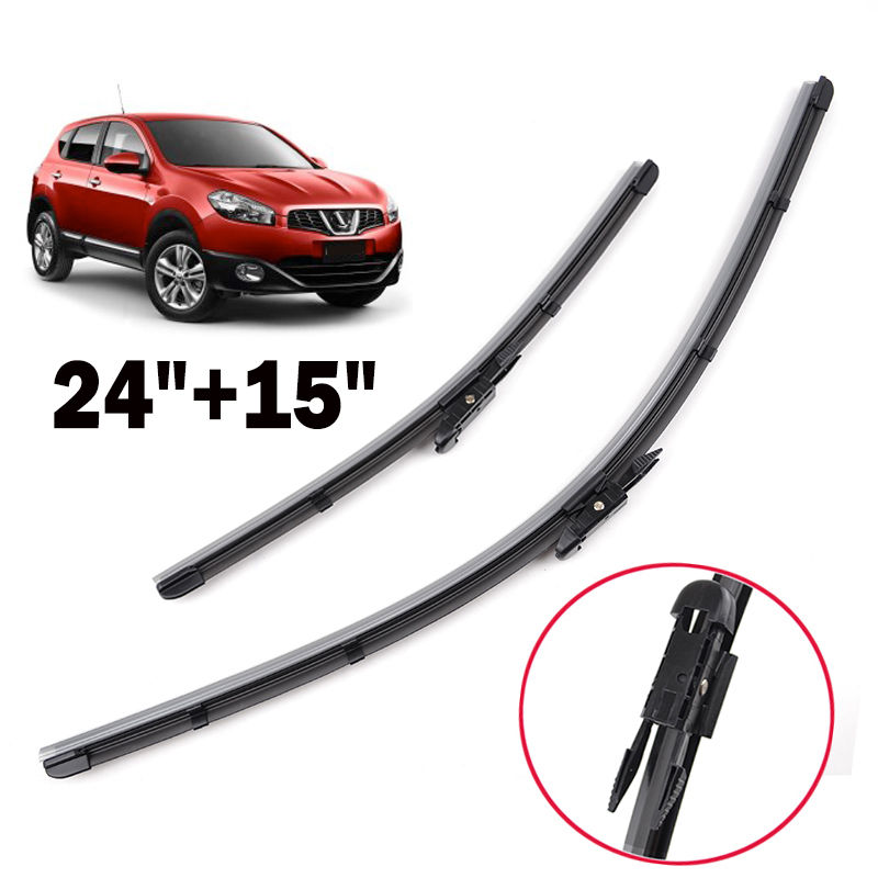 BBQ@FUKA Fit For 2006-2013 Nissan Qashqai Car Front Window Windshield Wiper Arm Blades Windscreen Rain Wiper цена 2017