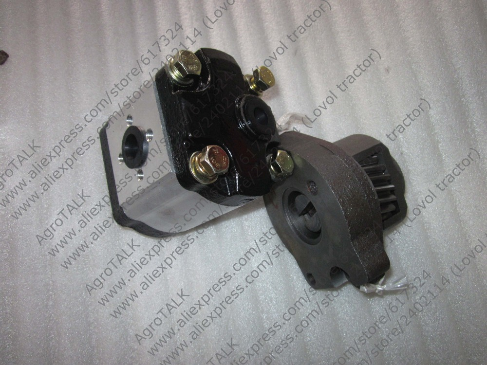цены на Y380 Y385T the tranmission shaft assembly with gear pump for JINMA 254 284 tractor