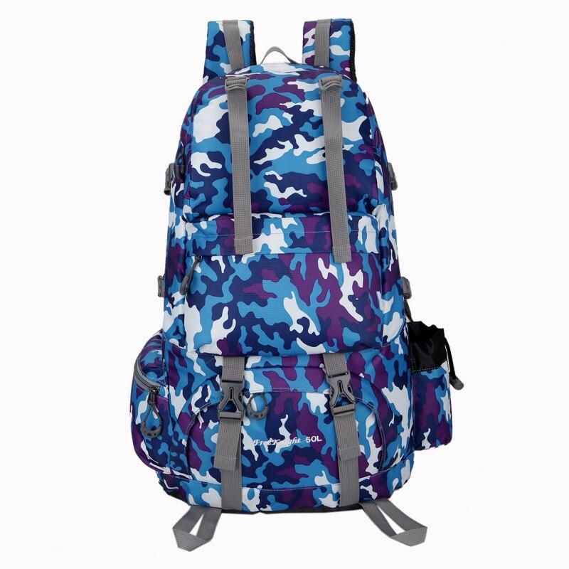 Imperméable à l'eau Sac À Dos Camping En Plein Air Sport Sac Grande Capacité sac à dos militaire sac à dos trekking Respirant sac de randonnée 0218