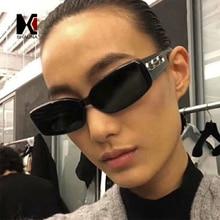 SHAUNA Ins Popular Small Rectangle Sunglasses Women