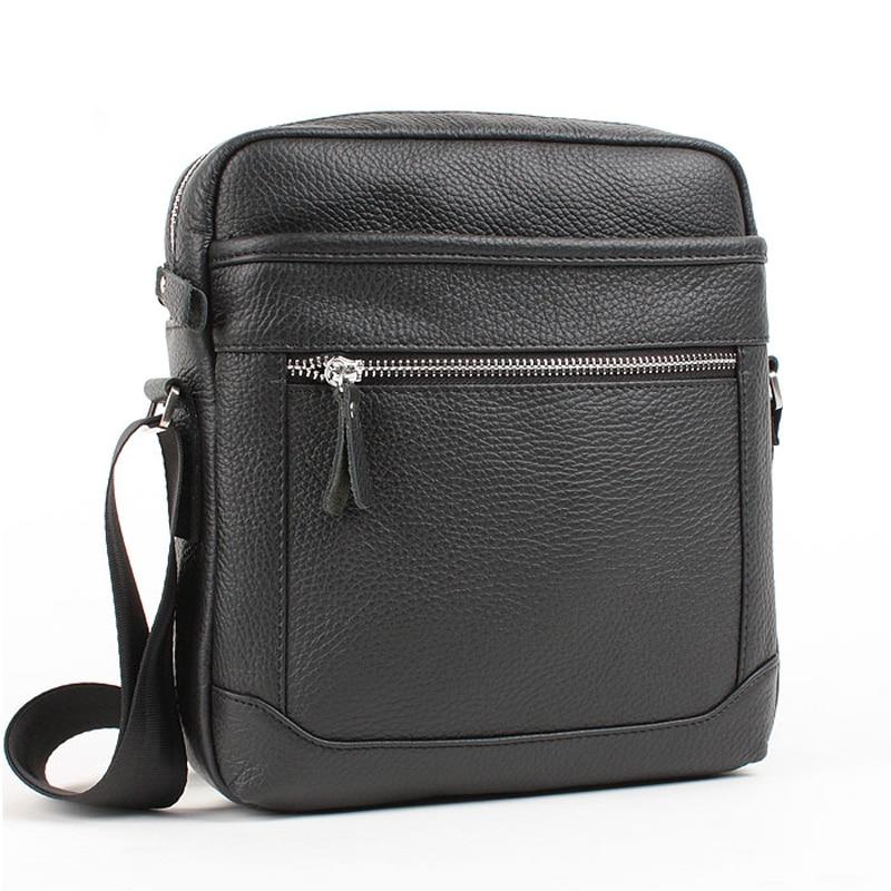 ФОТО Genuine leather messenger bags man bag commercial male casual leather bag shoulder bag  2014 for Men