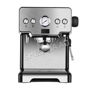 Włoski ekspres do kawy ze stali nierdzewnej ekspres do kawy 15bar home półautomatyczny typ pompy ekspres do kawy 1450W