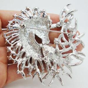Image 2 - Unique Horse Animal Clear Crystal Rhinestone Brooch Pin Pendant Classic  Rhinestone Unicorn Horse Decorated Jewelry