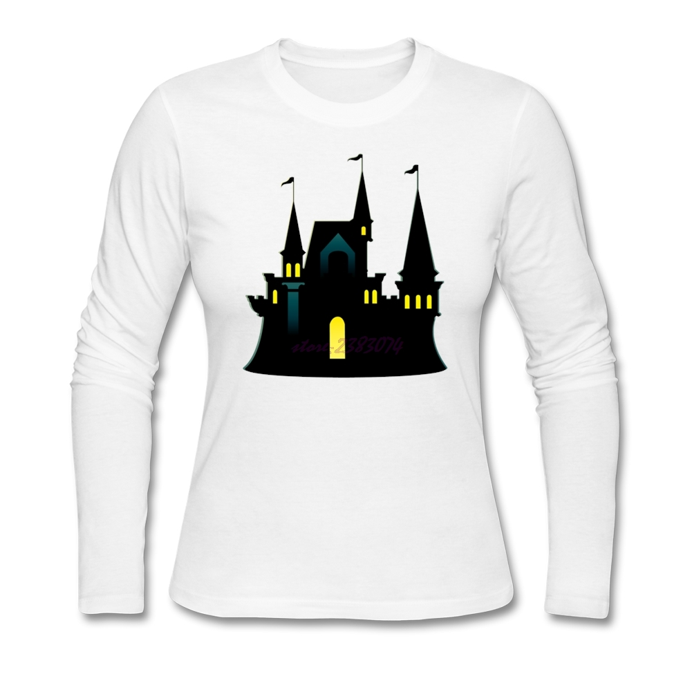 Shirt design ink - Line Simplicity T Shirt Halloween Design Symbol House Guys Cotton Crew Neck Printed With Healthy Ink Tee Shirts