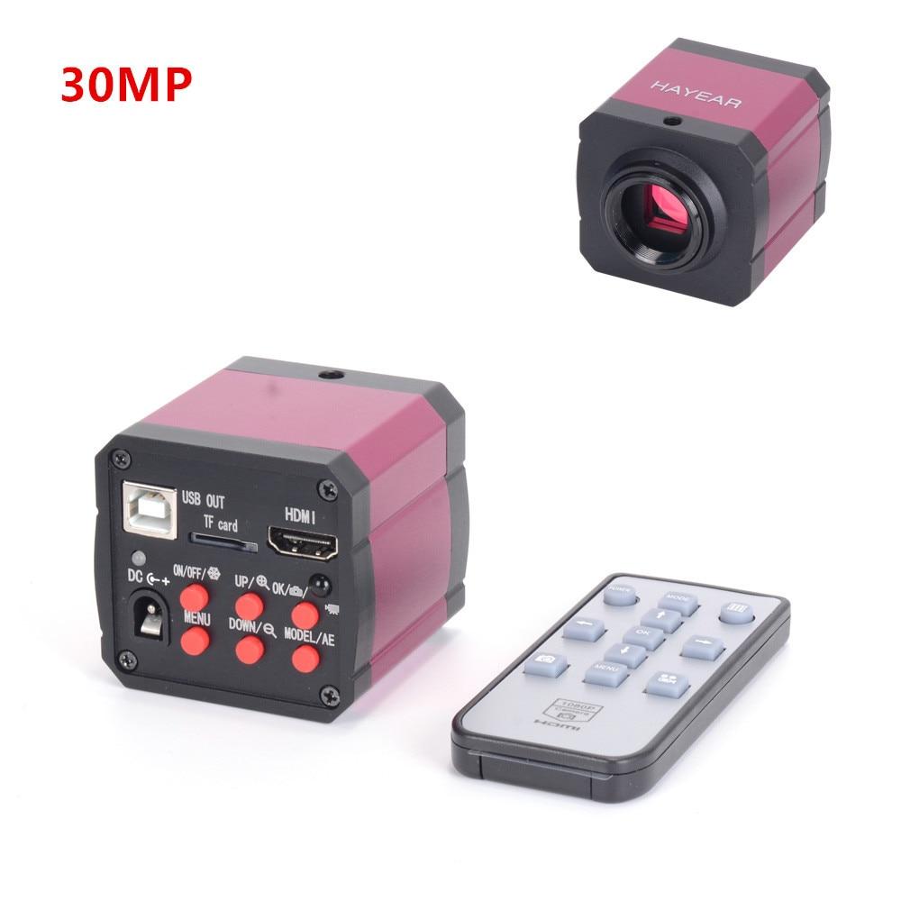 Full HD 1080P 30MP 60FPS Industrial Soldering Microscope Camera HDMI 2K Monocular Video Camera Digital Magnifier For PCB RepairFull HD 1080P 30MP 60FPS Industrial Soldering Microscope Camera HDMI 2K Monocular Video Camera Digital Magnifier For PCB Repair