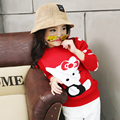 teenage girls sweaters for kids cardigan autumn and winter child cartoon pullover basic double layer thicken children sweater