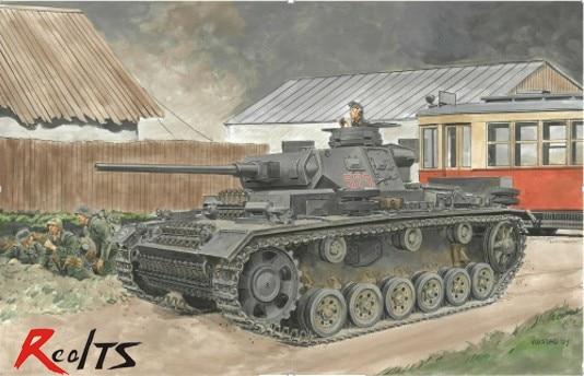 купить RealTS DRAGON model kit 6394 - Pz.Kpfw.III Ausf J - 1:35 scale по цене 3331.2 рублей