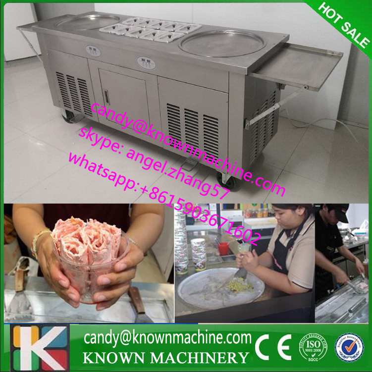 Imported compressors ice cream roll machine, ice roll machine, fried ice cream roll machine with ship to Costa rica airport heterocyclic synthesis by microwave techniques