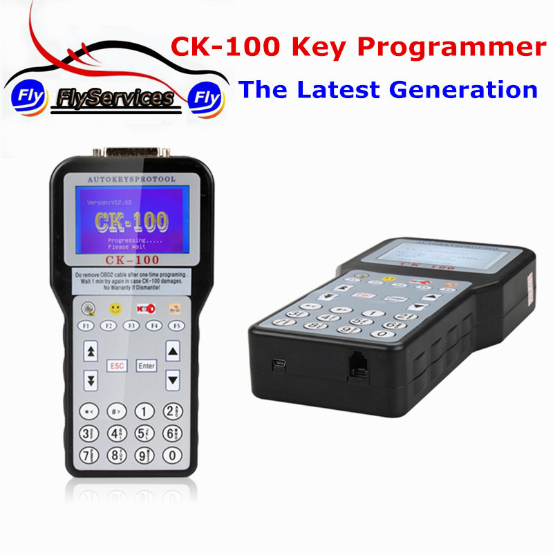 New Arrival CK-100 Auto Key Pro Tool CK100 Latest Generation Silca SBB Auto Key Programmer CK 100 V99.99 original obdstar vag pro auto key programmer no need pin code support new models and odometer vag key programmer free shipping