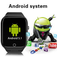 Android Smart Watch X89 HD Camera GPS Positioning Navigation WIFI Bluetooth Smartwatch Phone 4G 8G 16G ROM SIM Card Watch Men