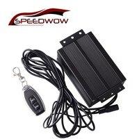 SPEEDWOW acier inoxydable Boost activé système de découpe d'échappement contrôleur électrique soupape de pompe à vide boîte de pompe à Air électrique