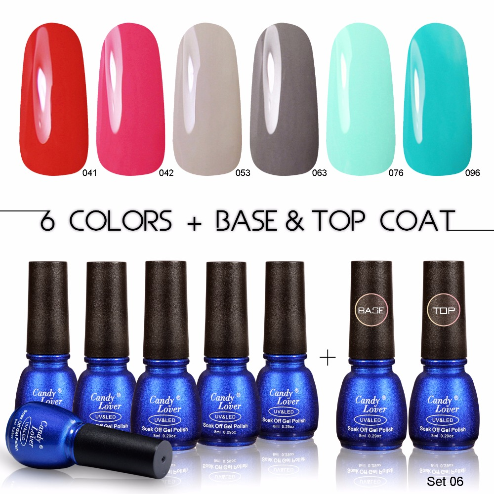 Aliexpress.com : Buy Candy Lover Professional Gel Nail Polish ...