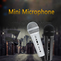 Handheld Microphone Professional Pure Vocal Dynamic Microphone Wired Metal Mic-Silver for Karaoke/Conference  Karaoke Microphone