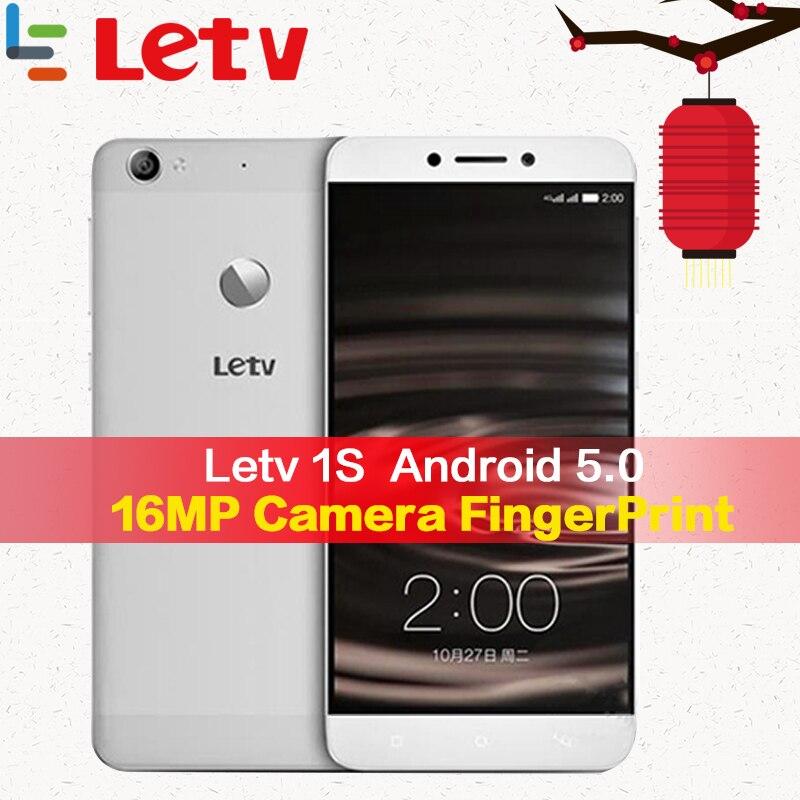 Téléphone portable Original Letv Le 1 S X500 téléphone portable 3G RAM 32G ROM Android 5.0 Helio X10 Octa Core 5.5 ''appareil photo smartphone 13MP