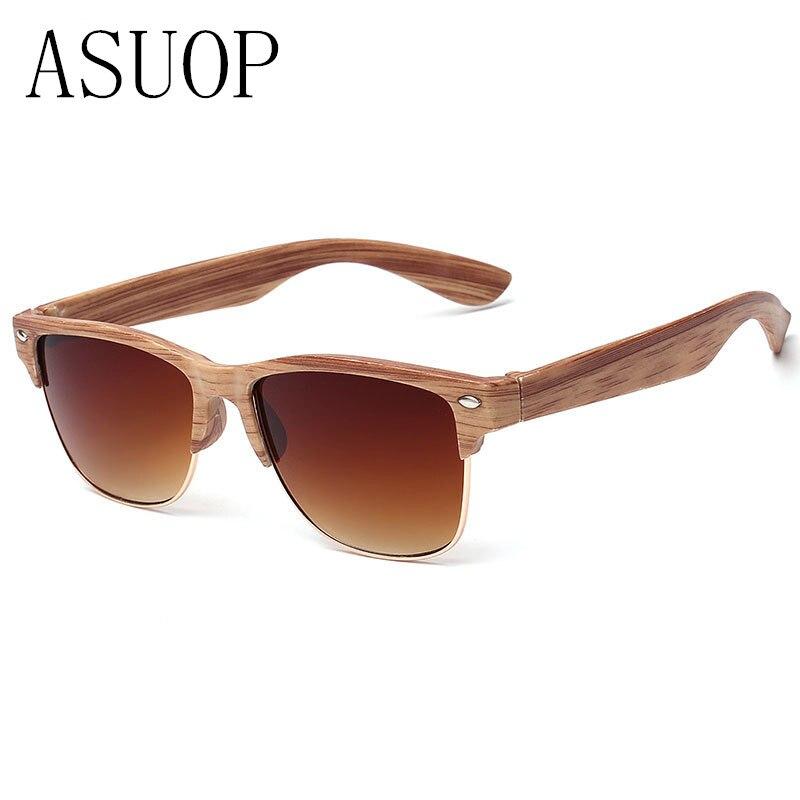 2019 neue Mode Holzimitat Damen Sonnenbrille klassischen Markendesign - Bekleidungszubehör - Foto 2